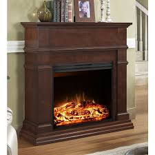 electric fireplaces style selections 44 in gany flat wall electric fireplace