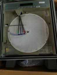 Foxboro Digital Chart Recorder Style Aa 740ra A3330 A