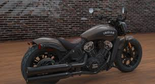 2018 indian scout bobber motorcycle bronze smoke