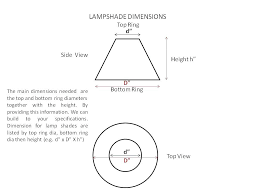 how to measure a lamp shade how to measure lamp shades image result for diffe types how to measure a lamp shade