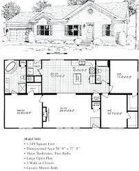 3 Bedroom Open Floor House Plans New Ideas