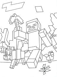 Custom Minecraft Coloring Pages Coloring Pages Best