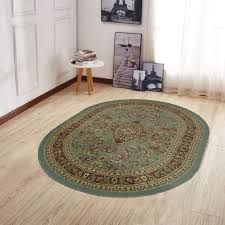 main rubber backed rugs on wood floors ottomanson ottohome persian heriz oriental design runner rug with