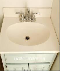 repaint bathtub how to paint a sink tutorial diy resurface bathtub