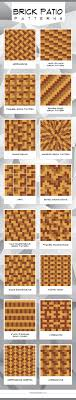 Paver Patio Designs Patterns Magnificent 48 Brick Patio Patterns Designs And Ideas