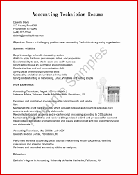 Cfo Resume New Accounting Technician Resume Mailing Format 67