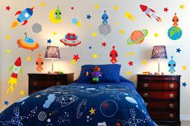 Kids Bedroom Wall Decor Space Wall Decor Bedroom Ideas Ward Log Homes