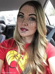 wonder woman ic book makeup wonder woman ic book makeup diy