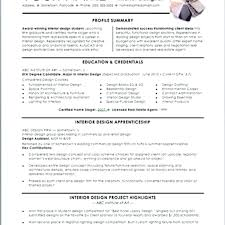 Curriculum Vitae Sample Format Mesmerizing Get Interior Design Resume Sales Designer Format Latest Get Interior