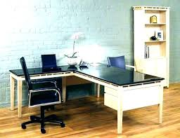 t shaped office desk. Contemporary L Shaped Desk Modern Shape Rectangular Intended For Decorations 11 T Office
