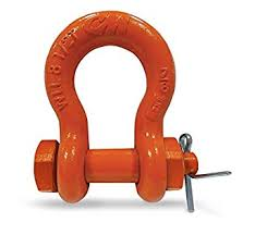 Cm Shackle Chart Cm M350g Anchor Shackle Round Pin 6000 Lb Load Capacity