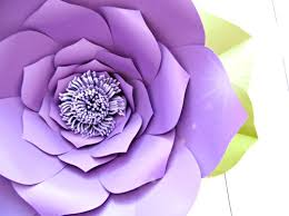 How To Make The Paper Flower How To Make Giant Paper Flowers Step By Step Tutorial