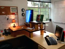 home office designs for two. Home Office Designs For Two People Hip Homemade L Shaped Person Desk With Shade Lamps Also Laptop A Small Chair Cushions Outdoor Furniture
