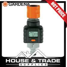 gardena water smart flow meter gauge