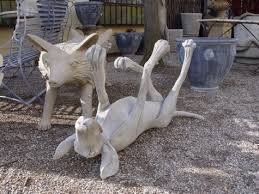 concrete garden sculpture deborah