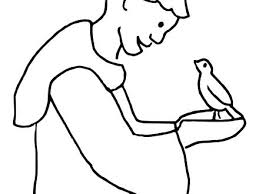 St Francis Of Assisi Coloring Page St Of Coloring Pages Saint Of