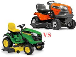 Husqvarna Vs John Deere 2018 Riding Lawn Mower Comparison
