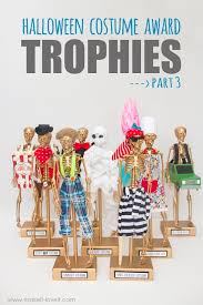 Halloween Costume Awards Diy Halloween Costume Award Trophies Part 3 Make It And Love It