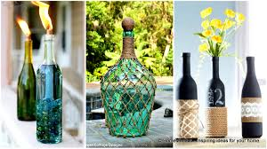 Diy Wine Bottle Projects 23 Simply Breathtakingly Ingenious Wine Bottle Crafts For Magical