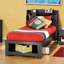 Brilliant Twin Bed Frame With Headboard Platform Low Profile 22 ...