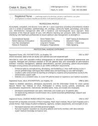 Best Nursing Resume Template Mesmerizing Resume Registered Nurse Nurse Resume Examples Best Registered Nurse