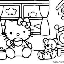 Kumpulan Hello Kitty Coloring Pages Online Toy Dolls Terbaru 2019