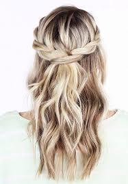 Coiffure Cheveux Mi Longs Demi Queue Automne Hiver 2016