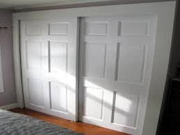 install bypass sliding closet doors door designs