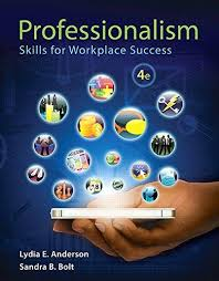 isbn professionalism skills for workplace isbn 9780321959447