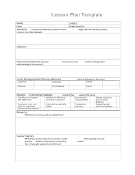 Lesson Plans Formats Elementary Daily Lesson Plan Template Elementary