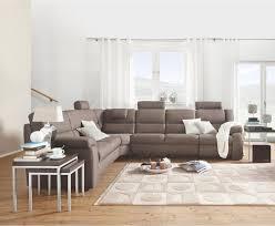 Wohnlandschaft In Textil Braun Haus In 2019