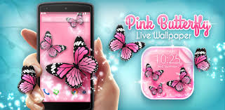 <b>Pink</b> Butterfly Live Wallpaper - Apps on Google Play