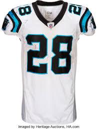Jonathan Unwashed Lot Worn Panthers 83679 Stewart Auctions Carolina Game Heritage 2011