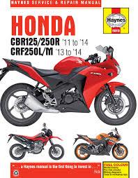honda cbr125r, cbr250r & crf250l m (11 14) haynes repair manual Honda Civic Wiring Schematics enlarge honda cbr125r, cbr250r