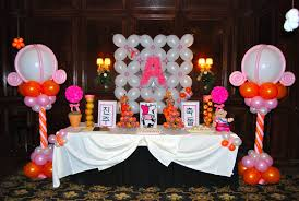 Korean Themed Party Decorations 1st Birthday Balloon Decorations Party Favors Ideas
