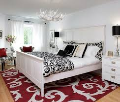 Black White Red Bedroom Ideas
