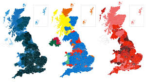 Election 2017 The Result In Maps And Charts Bbc News