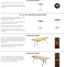 standard round table size standard banquet table size standard banquet table size round standard table sizes