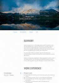 Project Lead Resume Samples And Templates Visualcv