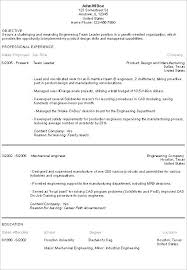 Career Objective For Mechanical Engineer Resume Career Objectives On Resume Penza Poisk