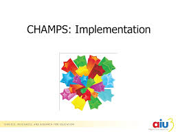 They put forth new techniques. Champs Implementation