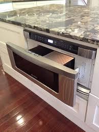 drawer microwaves microwave in kitchen island lake