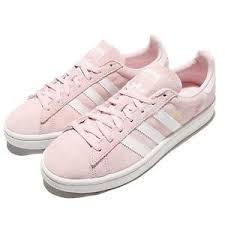 adidas shoes pink and white. image is loading adidas-originals-campus-w-pink-white-suede-women- adidas shoes pink and white
