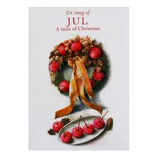 Christmas Notecard Jul A Taste Of Christmas Notecard Folio Scandinavianshoppe