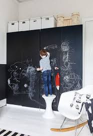 Kids Room: Amazing Kids Play Areas With Black Board - Chalkboards