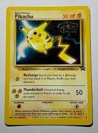 urologie-am-thie.de POKEMON MOVIE PROMO PIKACHU#1 ELECTABUZZ#2 MEWTWO#3  PIKACHU#4 DRAGONITE#5 MEW#8 Pokémon Trading Card Game Collectible Card Games