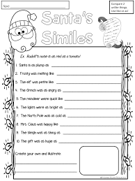 Free simile practice for Christmas- love it! | Christmas for ...