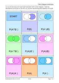 Probability Of A Given B Venn Diagram Venn Diagram Dominoes