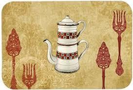 caroline s treres sb3088jcmt teapot wele kitchen or bath mat 24 by 36 multicolor