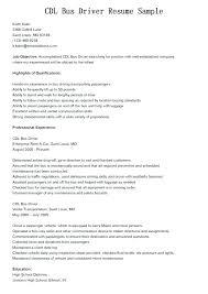 Cdl Resume Sample Best of Cdl Driver Resume Resume For Driver Driver Resume Sample Excellent
